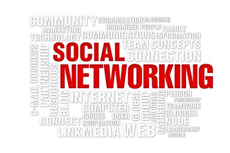 social  networking concept of new media communication, image isolated on a white background Stock Photo - 7999889