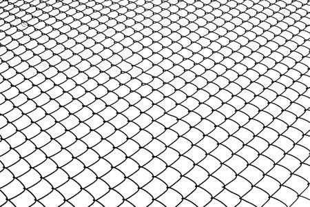 isolated image of chainlink fence photo