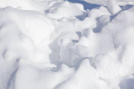 snowbanks: snow drifts background landscape, nobody