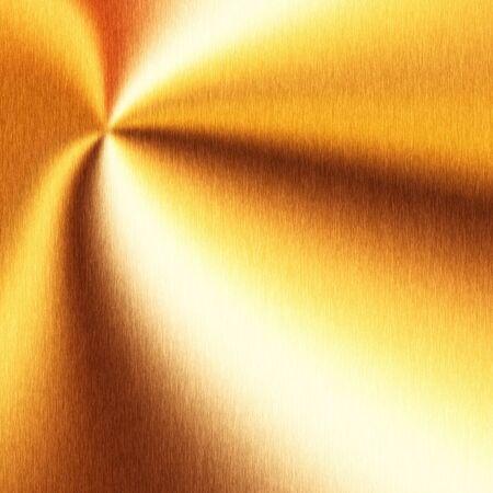 orange gold radial wave shiny texture square Stock Photo - 8394711