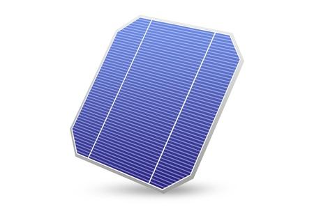 solar energy panel  isolated on white photo