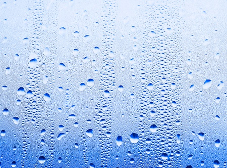 water drops on the glass background image
