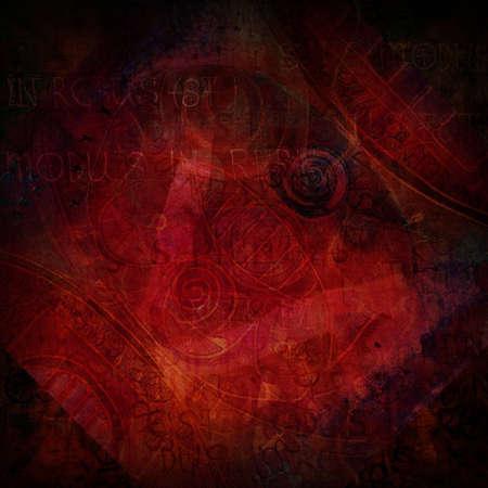 dark red grunge textured abstract background Stock Photo - 12582880