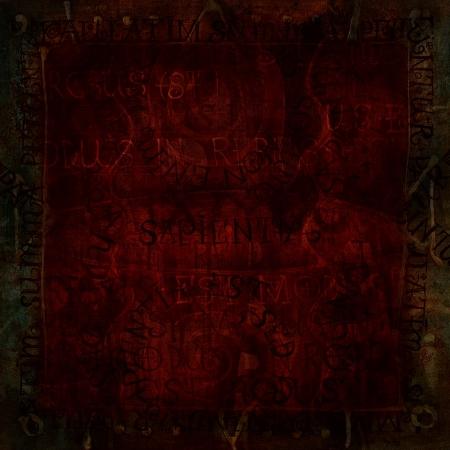oscuro: de color rojo oscuro del grunge abstracto con textura de fondo