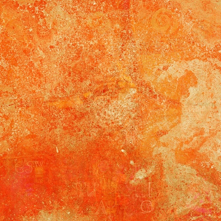 bright orange vintage background for creative artworks Stock Photo