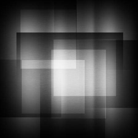 dark gray background of metal illustration Stock Illustration - 13731073
