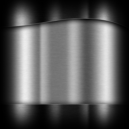 platinum metal: dark gray background of metal texture illustration