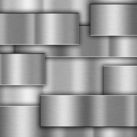 steel background: gray background of metal texture illustration