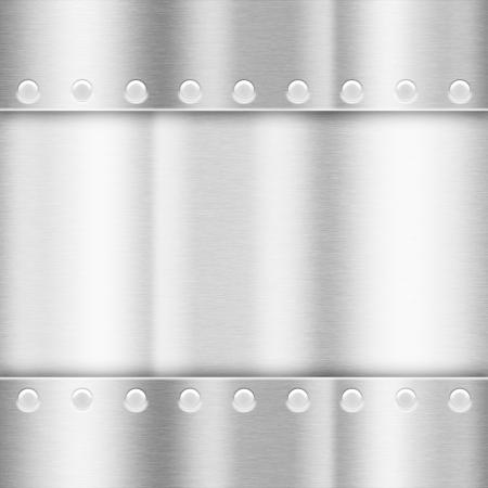 light gray background of metal illustration Banco de Imagens
