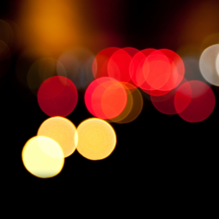 blurred lights abstract color background Stock Photo