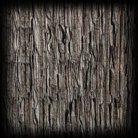 treated board: old dark wood texture background