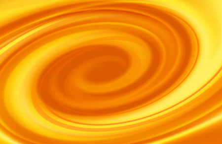 molted: Caramel swirl abstract spiral background