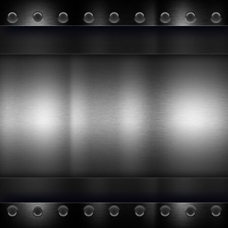aluminum background: Dark metal texture background for use in various applications and design products Stock Photo