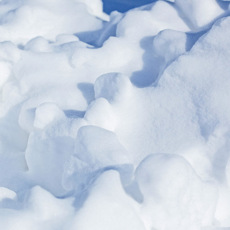 snowbanks: Snow surface background Stock Photo