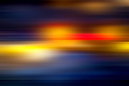 digitally generated image: Digitally generated image of stripes  moving fast over dark background Stock Photo
