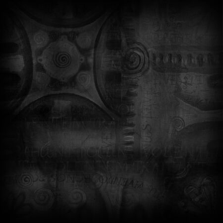 vintage background: Abstract dark vintage background