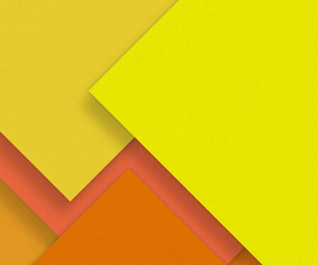 craft material: Yellow blank paper background, craft material, design element Stock Photo