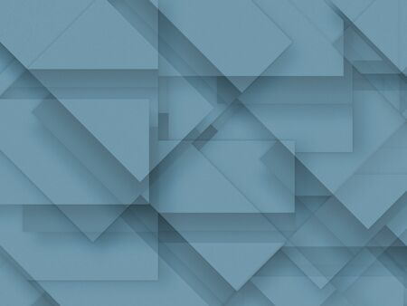 craft material: Blue blank paper background, craft material, design element Stock Photo