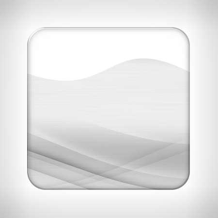 neutral background: Icon (button) on neutral background