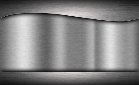 surface: Metal texture neutral background with brushed surface