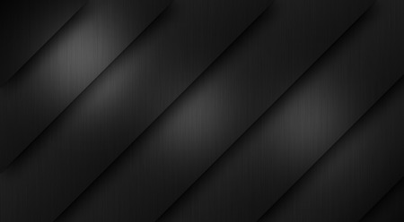 brushed: Brushed metal texture dark background Stock Photo