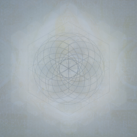 neutral background: Sacred geometry abstract symbol neutral background, designer template