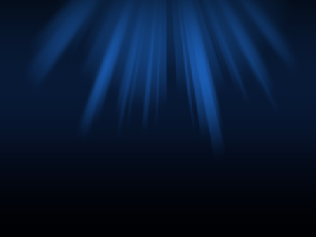 rays light: Abstract light rays over blue background