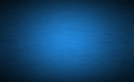Brushed metal texture background with abstract blue surface