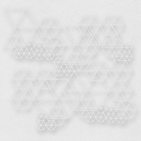 neutral: Neutral abstract graphic background with geometric elements Stock Photo
