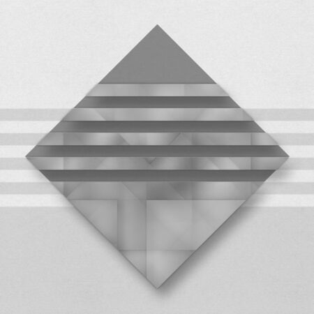 grey background texture: Neutral abstract graphic background with geometric elements Stock Photo