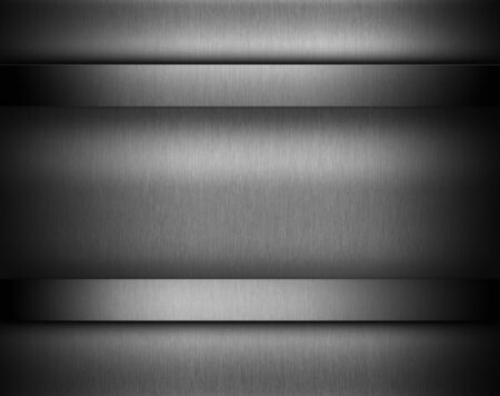 titanium: Dark metal background with brushed texture, illustration for tech products