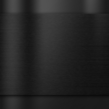 dark: Brushed metal texture dark background Stock Photo