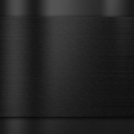 metales: Cepillado textura de metal de fondo oscuro Foto de archivo