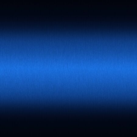 blue metal: Brushed metal texture background with abstract blue surface