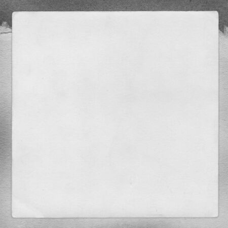 album page: Vintage gray paper background, blank album page