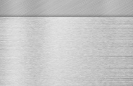 brushed: Brushed metal texture background