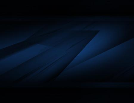 dark blue background: Abstract blue background illustration with dark elements Stock Photo
