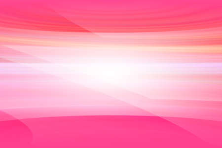 abstract waves: Abstract pink background illustration, smooth white waves