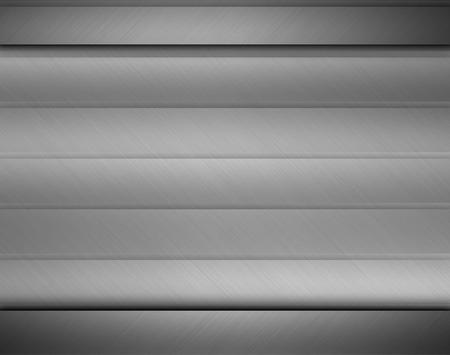 neutral: Brushed metal texture neutral background, metallic design element Stock Photo