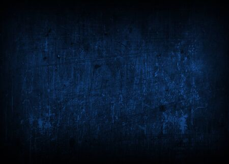 dark blue background: Abstract dark blue background illustration, empty backdrop Stock Photo