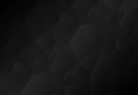 grey abstract background: Abstract dark gray polygonal mosaic background, creative design template Stock Photo