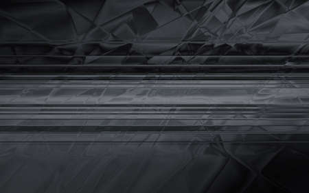 chaos: Abstract dark geometric chaos background Stock Photo