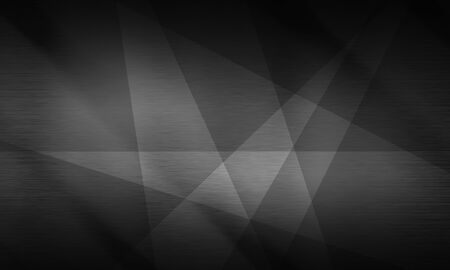 brushed metal texture: Polygonal background, brushed metal texture, neutral dark surface Stock Photo