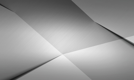 neutral: Brushed metal texture neutral background Stock Photo