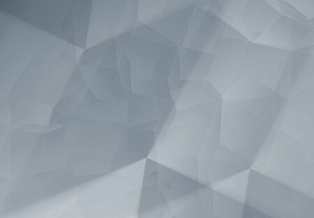 cool colors: Cool colors and neutral  polygonal mosaic background, empty backdrop with place for content