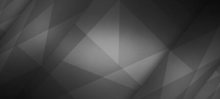 neutral: Polygonal dark background, brushed metal texture, neutral dark surface