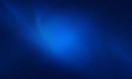 bright center: Blue dark background with bright center and abstract shape lines