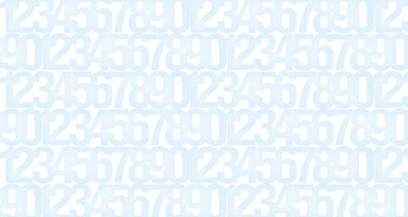 Abstract light background with the image of numbers to illustrate the design work of cryptography, computer technology or security systems