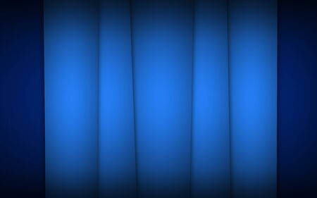 blue stripes: Abstract blue dark background with light stripes Stock Photo
