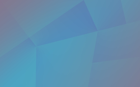 Abstract desaturated blue polygonal background, empty backdrop with place for content